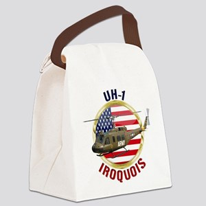 UH-1 Iroquois Canvas Lunch Bag