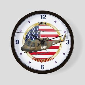 UH-1 Iroquois Wall Clock