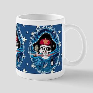 Pirate Sugar Skull 11 oz Ceramic Mug