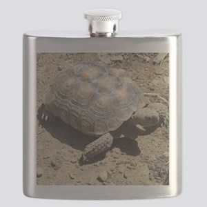 CALIFORNIA DESERT TORTOISE Flask