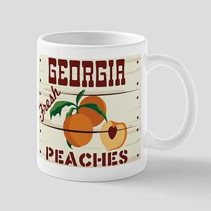 GEORGIA Fresh PEACHES Mugs