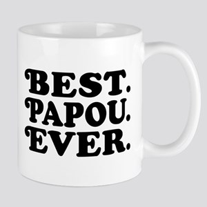 Best Papou Ever 11 oz Ceramic Mug