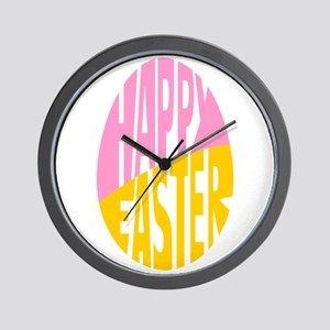 Happy Easter egg Wall Clock
