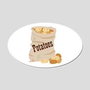 Potatoes Wall Decal