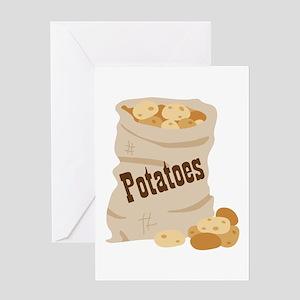 Potatoes Greeting Cards