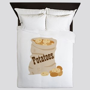 Potatoes Queen Duvet