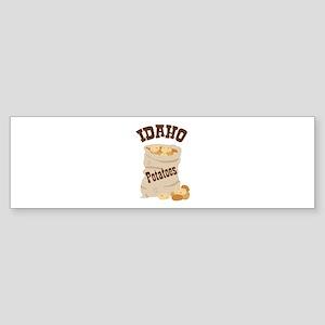 IDAHO Potatoes Bumper Sticker