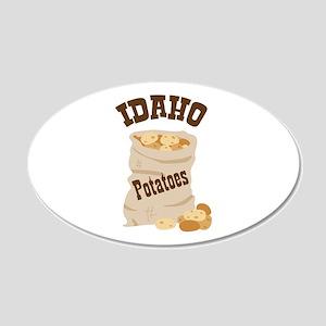 IDAHO Potatoes Wall Decal