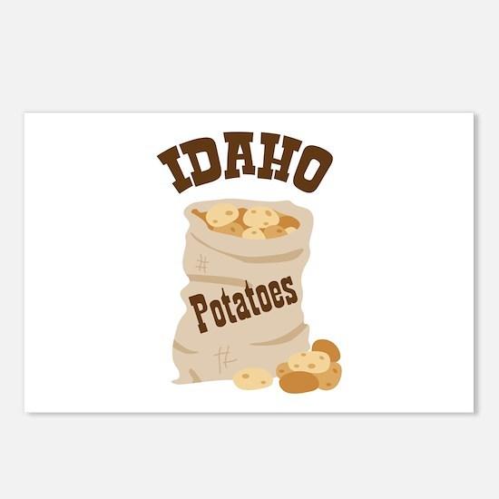 IDAHO Potatoes Postcards (Package of 8)