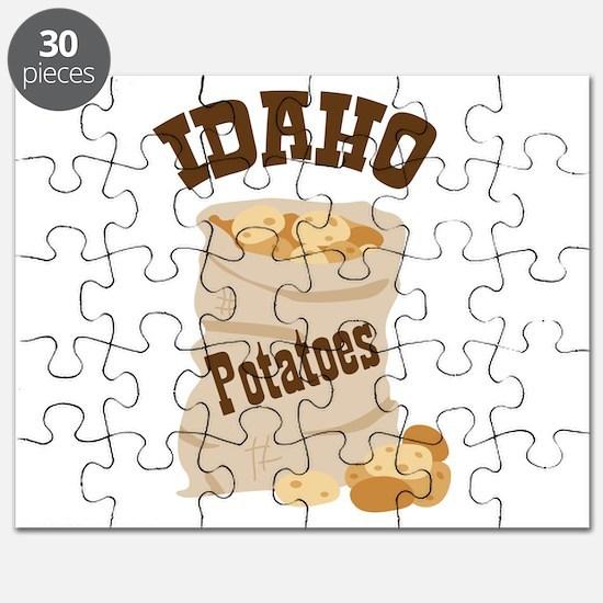 IDAHO Potatoes Puzzle