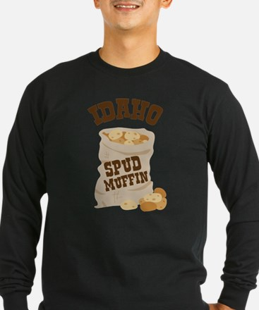 IDAHO SPUD MUFFIN Long Sleeve T-Shirt
