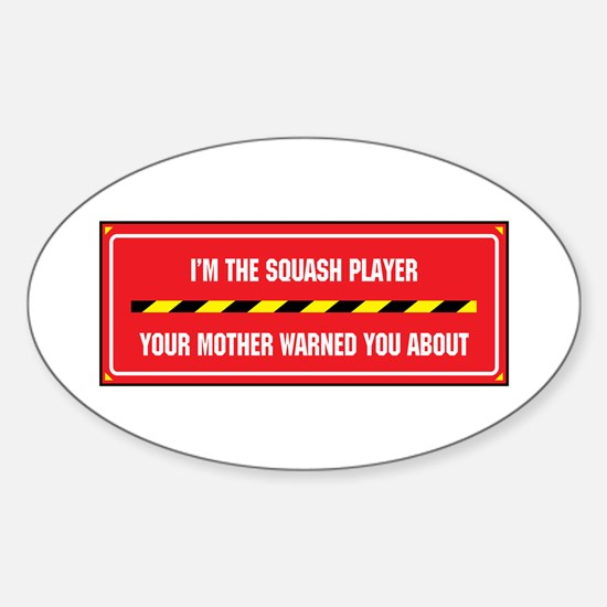 I'm the Player Oval Decal