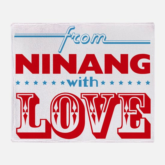 From Ninang With Love Throw Blanket