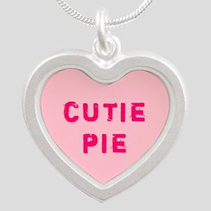 Pink Cutie Pie Conversation Heart Necklaces