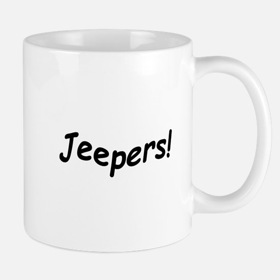 crazy jeepers Mugs