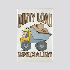 Dirty Load Specialist Rectangle Magnet