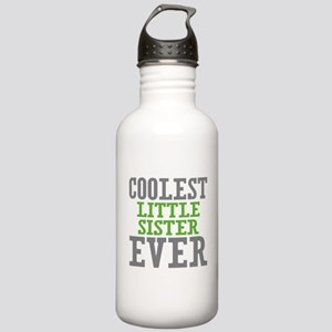 Coolest Little Sister Ever Stainless Water Bottle