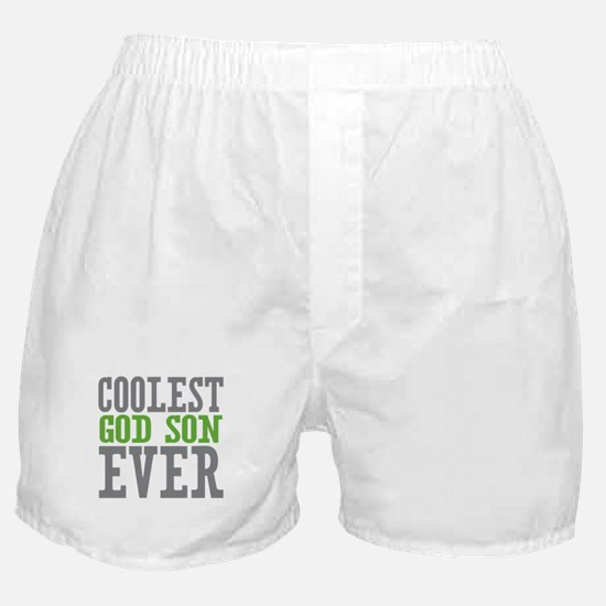 Coolest God Son Ever Boxer Shorts