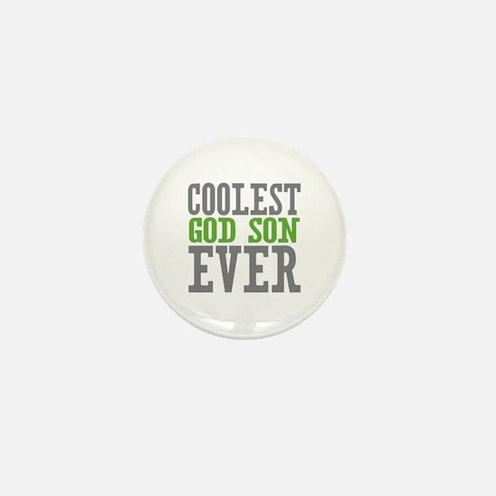 Coolest God Son Ever Mini Button