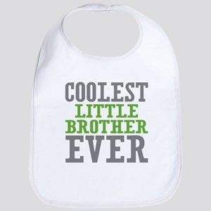 Coolest Little Brother Ever Bib