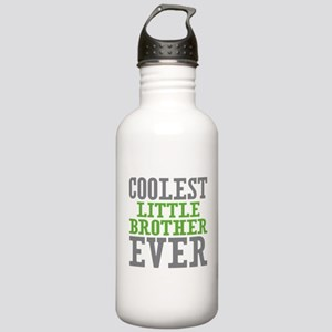 Coolest Little Brother Ever Stainless Water Bottle