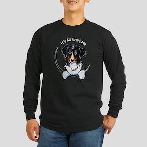 Bernese Mountain Dog IAAM Long Sleeve Dark T-Shirt