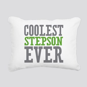 Coolest Stepson Ever Rectangular Canvas Pillow