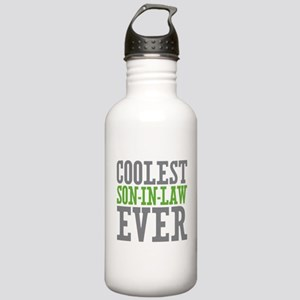 Coolest Son-In-Law Ever Stainless Water Bottle 1.0