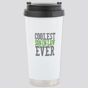 Coolest Son-In-Law Ever Stainless Steel Travel Mug