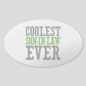 Coolest Son-In-Law Ever Sticker (Oval)