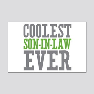 Coolest Son-In-Law Ever Mini Poster Print