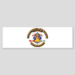 1st Bn - 4th Marines w VN SVC Ribbon Sticker (Bump