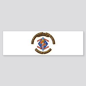 1st Bn - 4th Marines Sticker (Bumper)