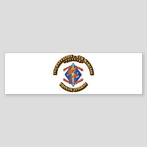 1st Bn - 4th Marines Sticker (Bumper)