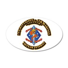 1st Bn - 4th Marines Wall Decal
