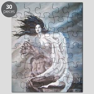 Gargoyle Girl Puzzle