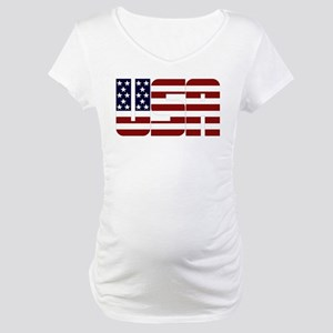 USAStarsAndStripes Maternity T-Shirt