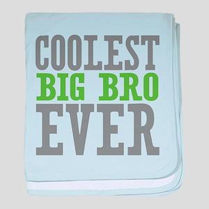 Coolest Big Bro Ever baby blanket