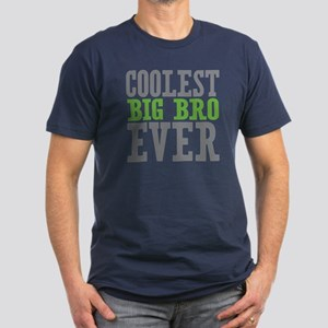 Coolest Big Bro Ever Men's Fitted T-Shirt (dark)