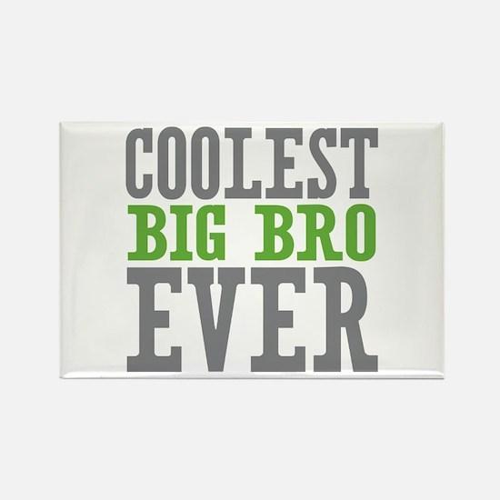 Coolest Big Bro Ever Rectangle Magnet