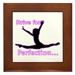 Gymnastics Framed Tile - Perfection