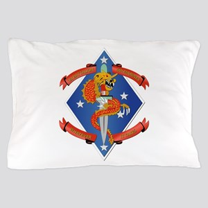 1st Bn - 4th Marines Pillow Case