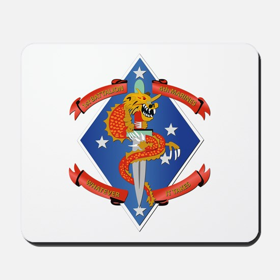 1st Bn - 4th Marines Mousepad