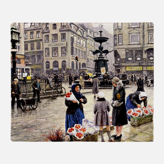 Paul-Gustave Fischer - A Bunch of Re Throw Blanket