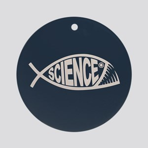 Science Fish II Ornament (Round)