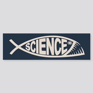 Science Fish II Sticker (Bumper)