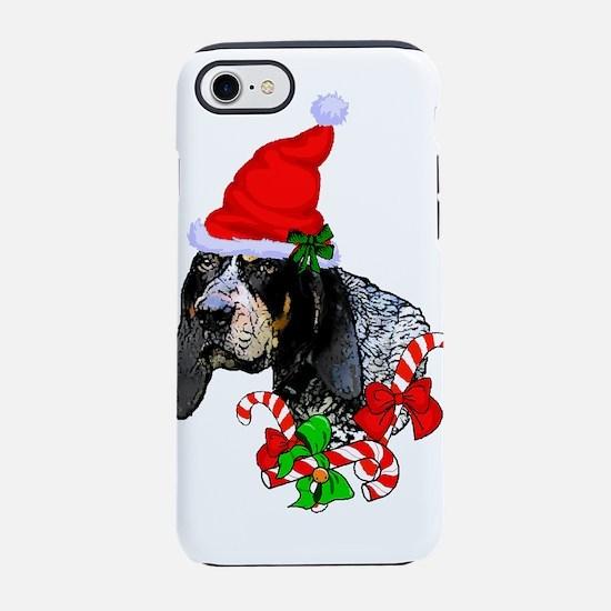 Bluetick Coonhound Christmas iPhone 7 Tough Case