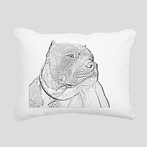 gotti3big Rectangular Canvas Pillow