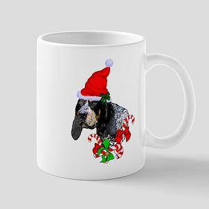 Bluetick Coonhound Christmas Mugs
