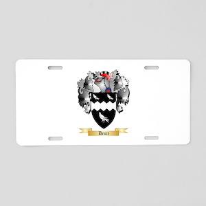 Deuce Aluminum License Plate